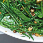French bean and mangetout recipe